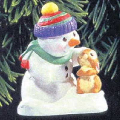 Snow Buddies 1st in Series 1998 Hallmark Ornament QX6853