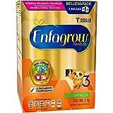 Enfagrow 3, Leche de Crecimiento para Niños Mayores de 12 Meses, 1.1 kg, Sabor Vainilla
