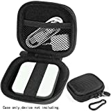WGear Credit Card Reader Case for Square Contactless and Chip Reader, Chip Reader Scanner, USB Cables and Small Accessories, Mesh Pocket, secure elastic strap, easy to go Carabiner