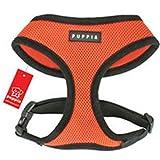 Puppia Soft Harness, PDCF-AC30/Orange/ Medium, My Pet Supplies