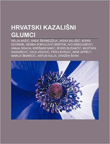 Hrvatski Kazalisni Glumci Relja Basic Izvor Wikipedia Amazon Nl