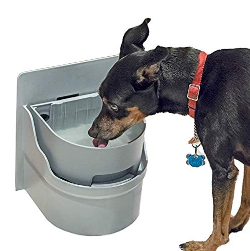 Perpetual Well Automatic Pet Water Bowl (Cabinet Mount w/Extra Bowl) by Perpetual Well (Image #1)
