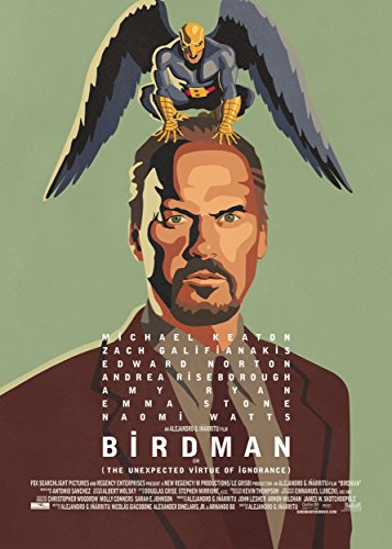 Birdman: Or The Unexpected Virtue of Ignorance 2014 Movie Poster