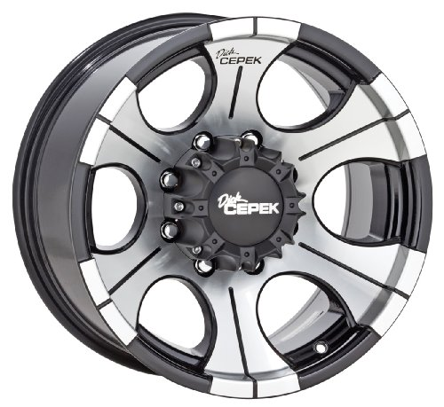 Dick Cepek DC-2 Gloss Black Wheel with Machined Finish (16x10