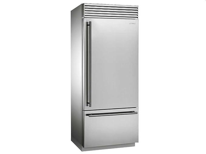 Smeg Kühlschrank Silber : Smeg rf rsix autonome l a edelstahl kühlschränken