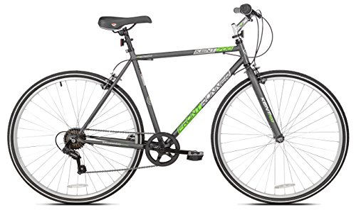 "Kent Front Runner Hybrid Bike, White, 21.25""/One Size"