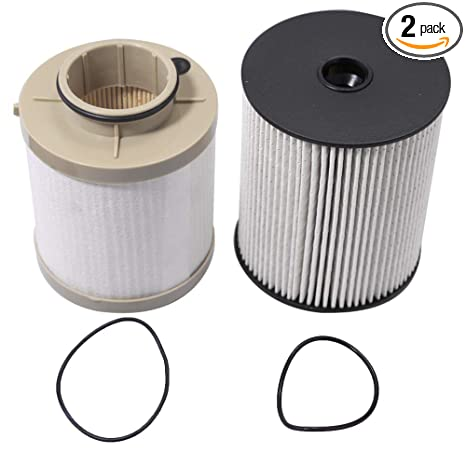 Amazon Com Fuel Filter Kit Fd 4617 For Ford Motorcraft 6 4l 2008