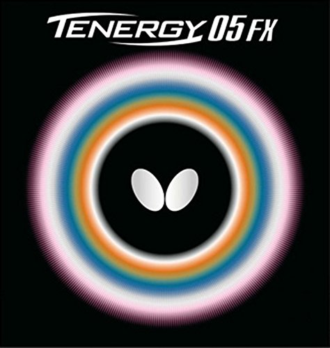 Butterfly 2.1 Tenergy 05 FX Rubber, Red, used for sale  Delivered anywhere in Canada