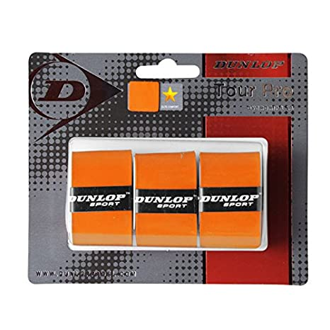 Dunlop Overgrip Tour Pro, Color Orange