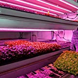 Sumerflos T5 LED Grow Light Strips, 4FT 160W