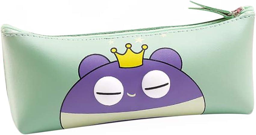 LGHH Estuche De Lápices Estuche De Papelería Lindo Estuche De Dibujos Animados Estuche De Papelería Bolsa De Almacenamiento: Amazon.es: Hogar