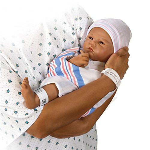 Ashton Drake Lifelike Newborn Sandy