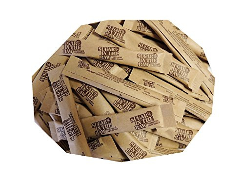 (Sugar In the Raw Euro Sticks, 5 grams each, pack of 100)