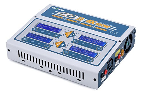 EV-PEAK CQ3 100Wx4 10A Four Channel LiPo, LiHV, LiFe, NiCd, NiMh Battery Balance Charger Discharger