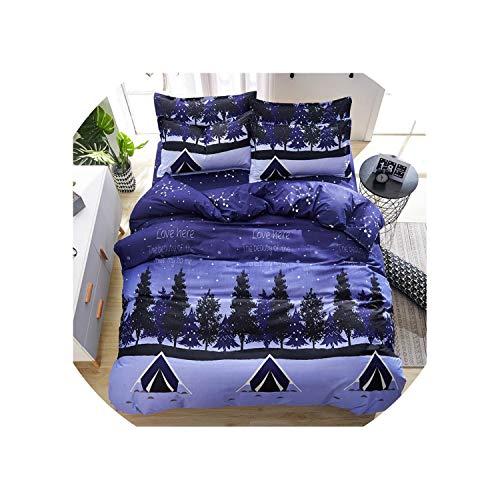 Svetanya Fashion Flamingo Sheet Pillowcase Duvet Cover Set China Bedding Set Single Double Bed Size,20185211,Twin ()
