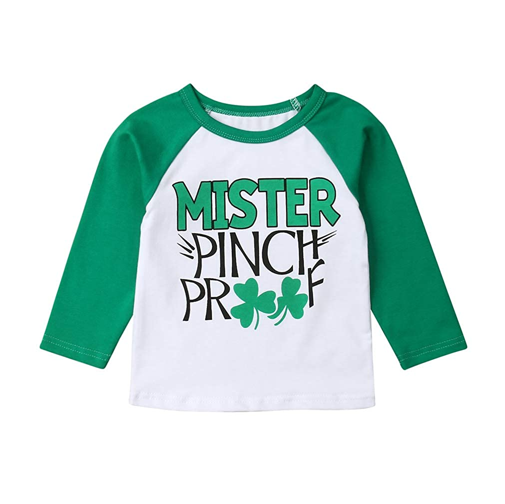 e3242697d Amazon.com  Toddler Baby Boy Clothes Outfit St. Patrick s Day Green ...