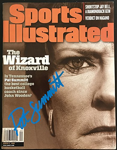 Pat Summitt (d. 2016) Signed Autographed Complete
