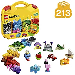 LEGO Classic Creative Suitcase Building Blocks for Kids (213 pcs)10713