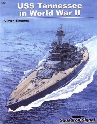 Uss Tennessee Battleship - USS Tennessee in World War II - Specials series (6094)