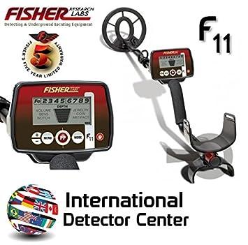 Detector de metales Fisher F11 News búsqueda metales de las piezas de oro: Amazon.es: Deportes y aire libre