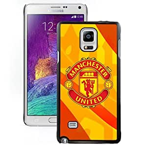 Unique DIY Designed Case For Samsung Galaxy Note 4 N910A N910T N910P N910V N910R4 With Soccer Club Manchester United 03 Football Logo Cell Phone Case