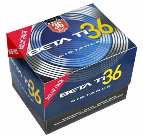 Intech Beta Ti Golf Balls (36 Pack), Outdoor Stuffs