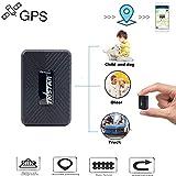Mini Rastreador GPS,Portátil GPS Tracker Tiempo Real GPS Localizador para Personas Prevenir la Perdida GPS para niños GPS + LBS,Magnético,Batería por hasta 25 Días,Resistente al Agua IP65,Alarmas y Geocerca para Personas Pets Vehículo