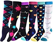 Compression Socks for Women Men Best Knee High Stockings for Running,Athletic Sports,Flight Travel,Pregnancy
