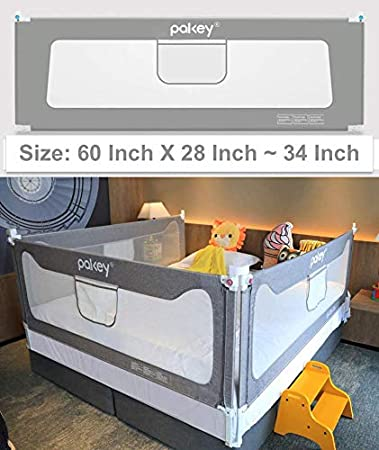 Toddler Sleep Safety Bed Rail Kids Baby Guard Protective Gate Multi Size//Colour