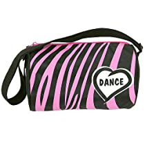 HORIZON DANCE GIRLS ZEBRA DUFFEL BAG - 4110