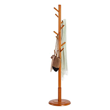 Coat Stand - Perchero Moderno Simple de Madera Base Perchero ...