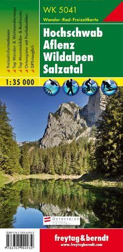 WK 5041 Hochschwab   Aflenz   Wildalpen   Salzatal Wanderkarte 1 50.000 Freytag And Berndt Wander Rad Freizeitkarten