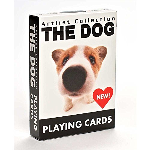 Dog Playing Cards - Bicycle The Dog Artlist Collection Playing Cards