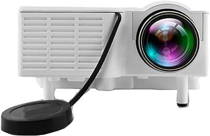 Portable UC28 PRO Mini LED Projector Home Cinema Theater AV VGA USB
