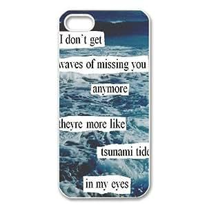 Ed Sheeran Quotes iPhone 5 Case Hard Plastic iPhone 5 Case