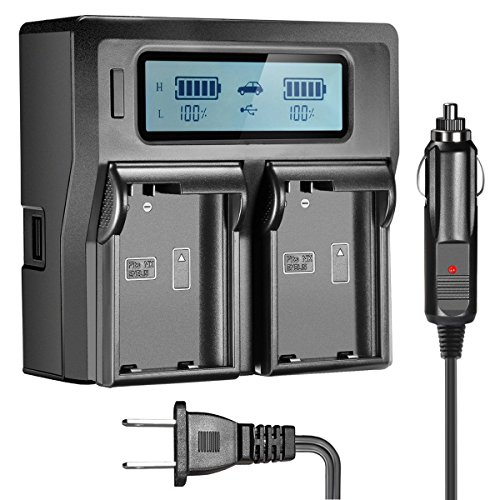 OAproda EN-EL15 Rapid Dual LCD Battery Charger for Nikon EN EL15,EN-EL15A, D7100, D7000, D7200, D750,D810, D610, D800, D600, D800e, D500, v1 Digital Cameras, Replacement of MH-25 Charger