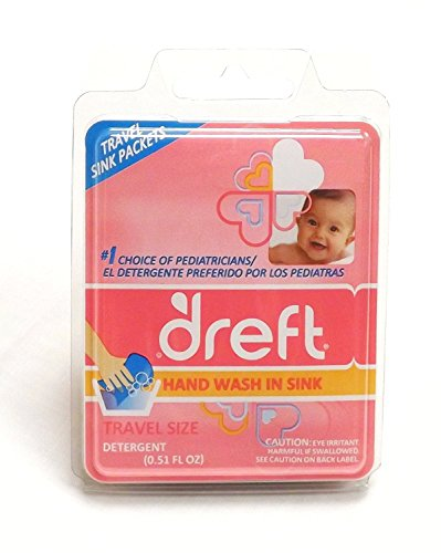 - Dreft Baby Liquid Laundry Detergent Travel SINK Packets BEST VALUE - (18) .17oz Individual Packs