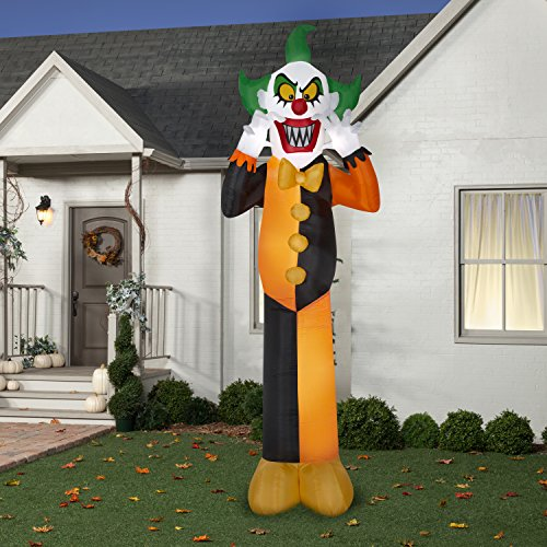 Homemade Halloween Gravestone (Inflatable Halloween Decorations 12Ft Clown)