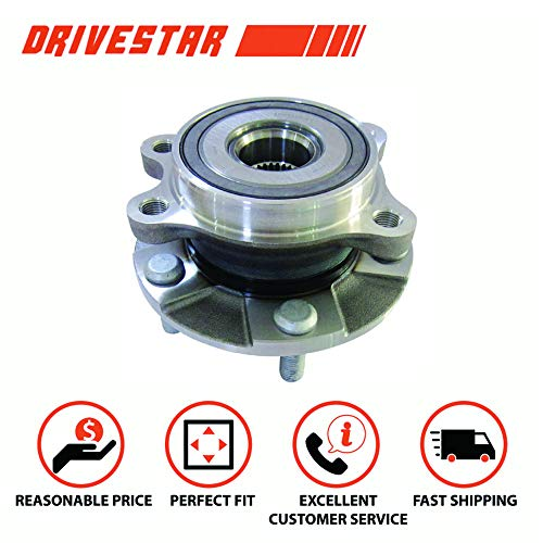 DRIVESTAR 513258 Front Wheel Hub & Bearing Assembly fits Toyota Rav4 11-13 Scion tC 5 Lugs