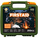 Be Smart Get Prepared 250 Piece Outdoor First Aid Kit - Office, Home