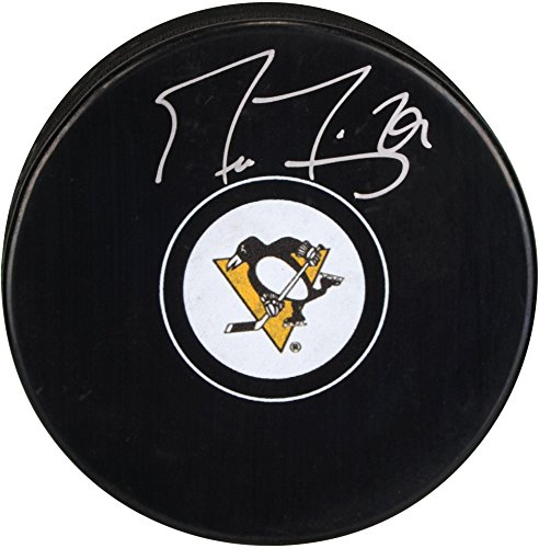 Hockey Autographs - Marc-Andre Fleury Pittsburgh Penguins Autographed Hockey Puck - Fanatics Authentic Certified - Autographed NHL Pucks