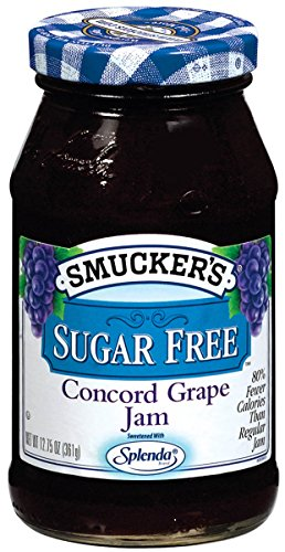 (Smucker's Sugar-Free Concord Grape Jam, 12.75 oz (Pack of 6))