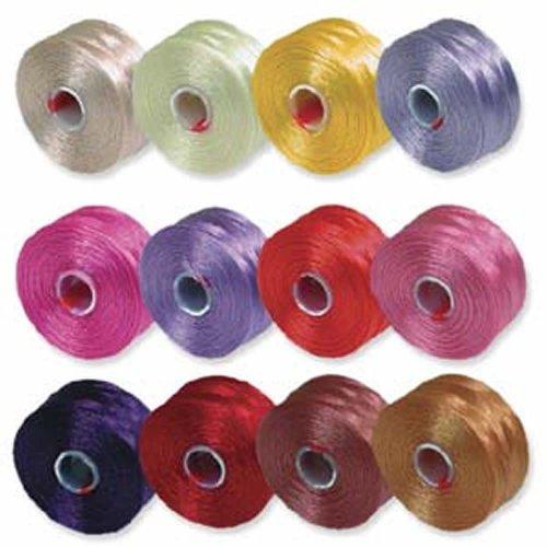 Beading Thread Mixture Colors Beadsmith