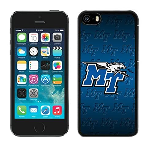 Conference USA Middle Tennessee Blue Raiders NCAA iPhone 5C Case Cover (Iphone 5c Speck Case Cheap)