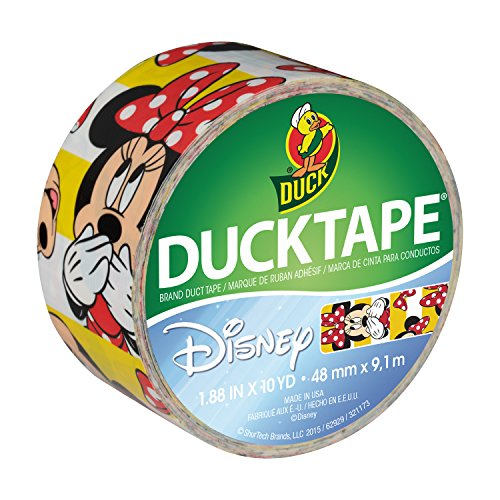 Duck Brand 284497 Disney-Licensed Minnie Mouse Printed Duct