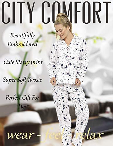 Star CityComfort Donna Pigiama Print pezzi due xqRwYTgC