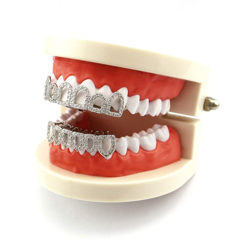 Dientes falsos, parrillas para tus dientes Juego de rejillas ...