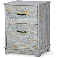 DEVAISE 2-Drawer Wood Nightstand