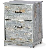 DEVAISE 2-Drawer Wood Nightstand
