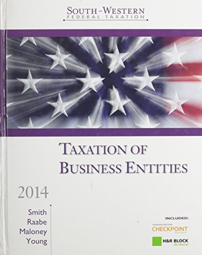 South-Western Federal Taxation 2014: Taxation of Business Entities